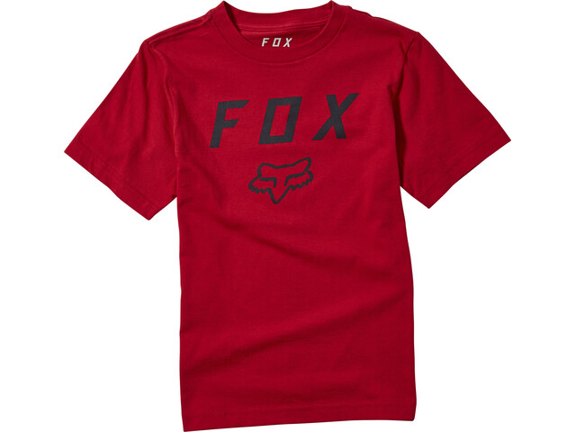 Fox Legacy SS Tee Youth, chili